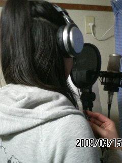 レコーディング★智美